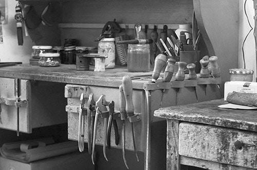 atelier création chaussures sur mesure