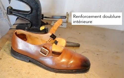 renforcement doublure intérieure